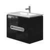 Vanity unit Prato Pr-75 Black
