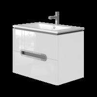 Vanity unit Prato Pr-75 White