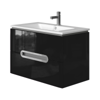 Vanity unit Prato Pr-85 Black
