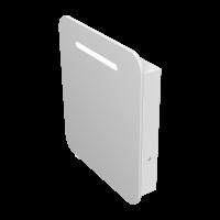Дзеркальна шафа Prato PrM-70 біла