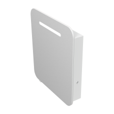 Зеркальный шкаф Prato PrM-70 белый