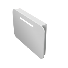 Зеркальный шкаф Prato PrM-90 белый