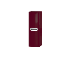 Tall storage unit Prato PrP-100 Claret