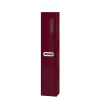 Tall storage unit Prato PrP-170 Claret