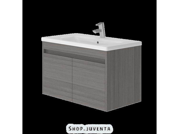 Vanity unit Ravenna Rv-80 Grey-Brown Avola Pine