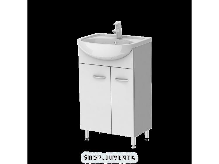 Vanity unit Rio Rio1-45 White