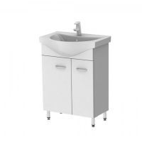 Vanity unit Rio Rio1-60 White