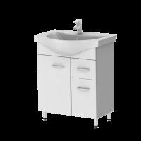Vanity unit Rio Rio4-60 White