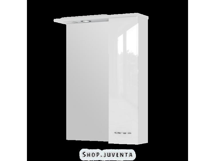 Зеркальный шкаф Rio RioMC1-60 правый белый