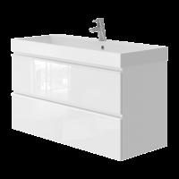 Vanity unit Savona Sv-100 White