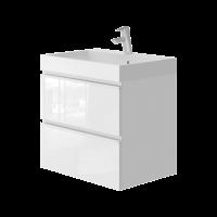 Vanity unit Savona Sv-60 White