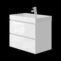 Vanity unit Savona Sv-70 White