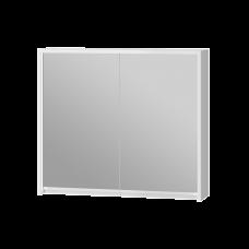 Зеркальный шкаф Savona SvM-80 белый