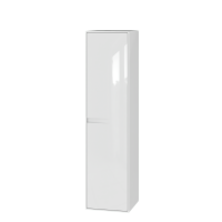 Tall storage unit Sequetto SqP-160 White