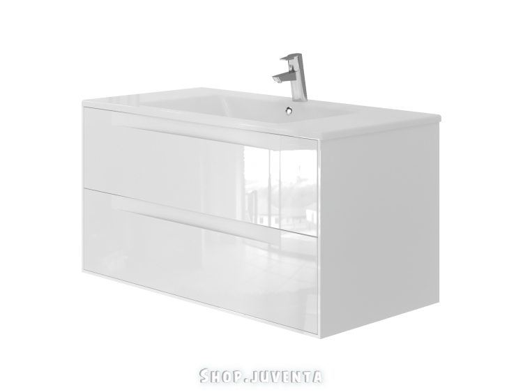 Vanity unit Sequetto Sqt-100 White