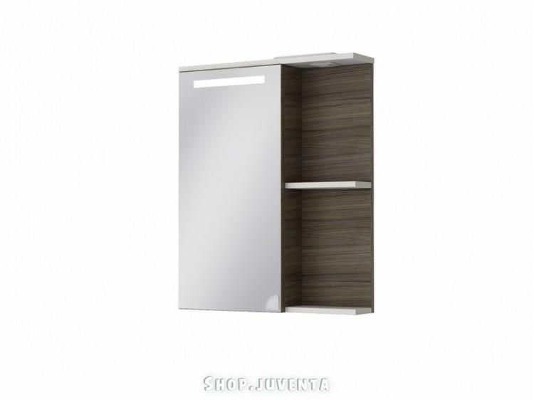 Mirror cabinet Sofia Nova SnMC-65 Grey-Brown