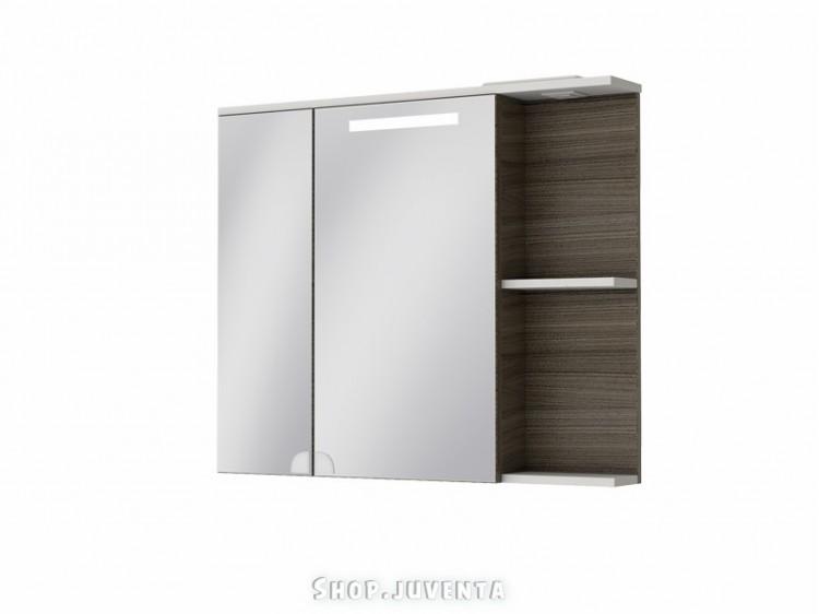 Mirror cabinet Sofia Nova SnMC-95 Grey-Brown