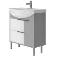 Vanity unit Sofia Sf-75 Grey