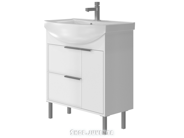 Vanity unit Sofia Sf-75 White