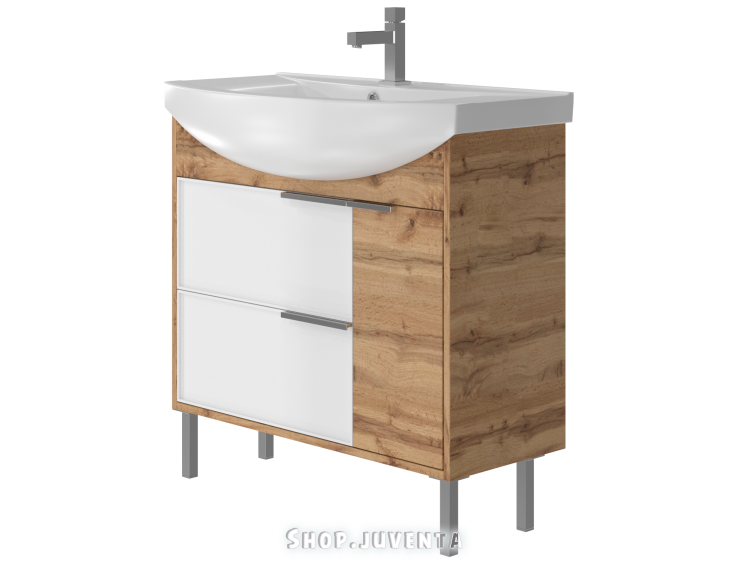 Vanity unit Sofia Sf-85 Wotan Oak