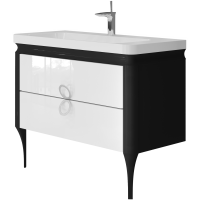 Vanity unit Ticino Tc-105 Black