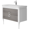 Vanity unit Ticino Tc-105 Pastel Oak