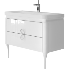 Vanity unit Ticino Tc-105 White