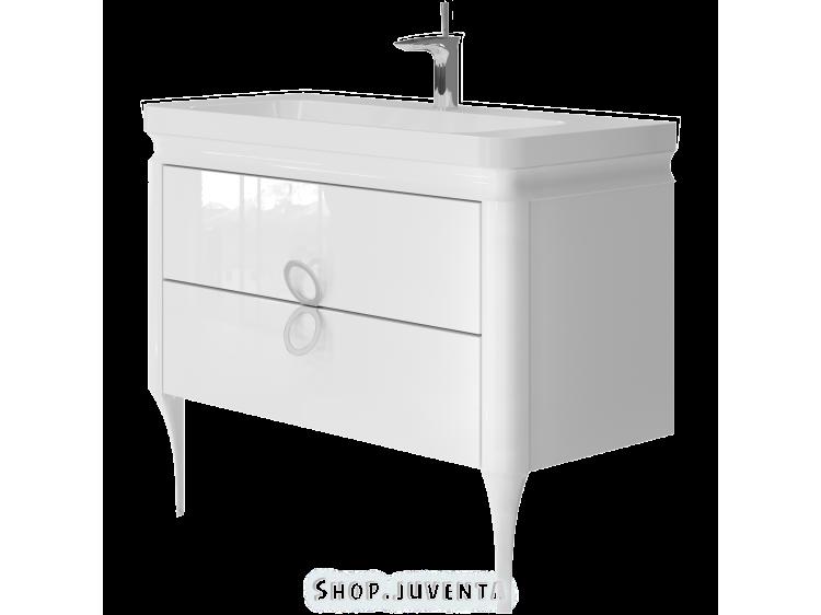 Vanity unit Ticino Tc-105 White