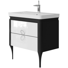 Vanity unit Ticino Tc-85 Black