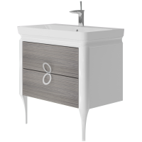 Vanity unit Ticino Tc-85 Pastel Oak