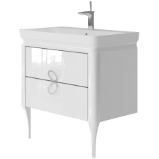 Vanity unit Ticino Tc-85 White