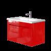 Vanity unit Tivoli Tv-80 Red