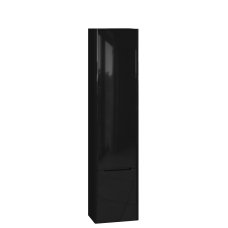 Tall storage unit Tivoli TvP-190 Right Black