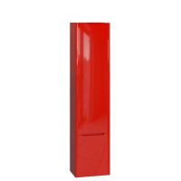 Tall storage unit Tivoli TvP-190 Right Red