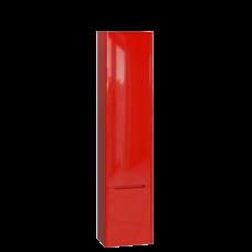 Tall storage unit Tivoli TvP-190 Right Red