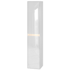 Tall storage unit Torino TrP-170 White