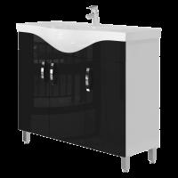 Тумба Trento Trn-100 черная
