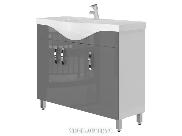 Vanity unit Trento Trn-100 Grey
