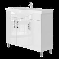Vanity unit Trento Trn-100 White