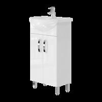 Vanity unit Trento Trn-45 White