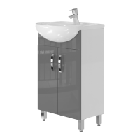 Тумба Trento Trn-50 серая