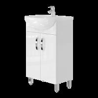 Vanity unit Trento Trn-50 White
