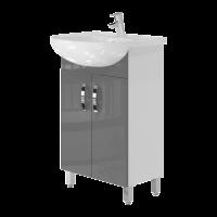 Vanity unit Trento Trn-55 Grey