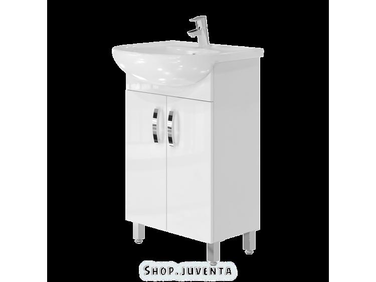 Vanity unit Trento Trn-55 White