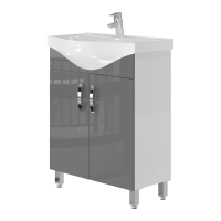Тумба Trento Trn-65 серая