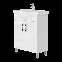 Vanity unit Trento Trn-65 White