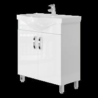 Vanity unit Trento Trn-75 White