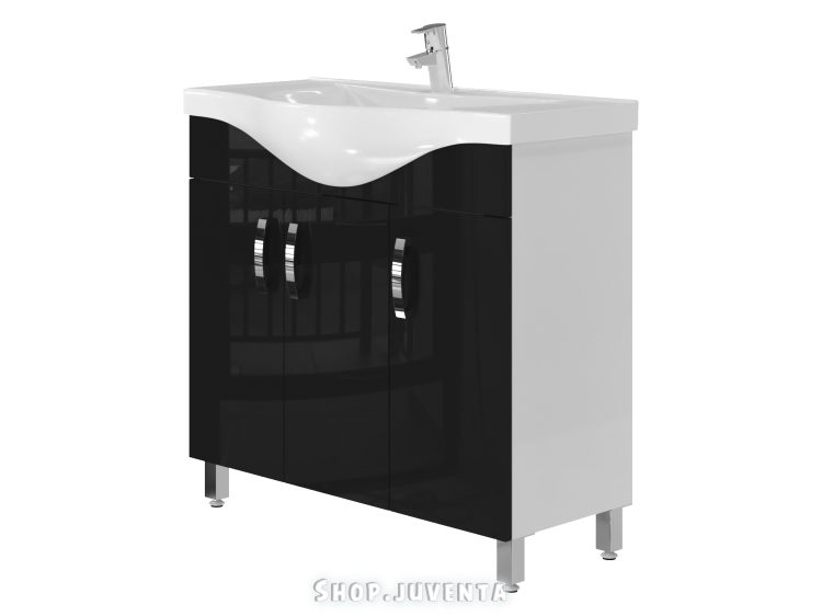 Тумба Trento Trn-87 черная
