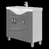 Vanity unit Trento Trn-87 Grey