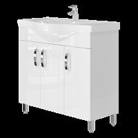 Vanity unit Trento Trn-87 White
